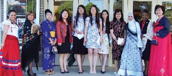 Models and singers for Ethnic Awareness Program