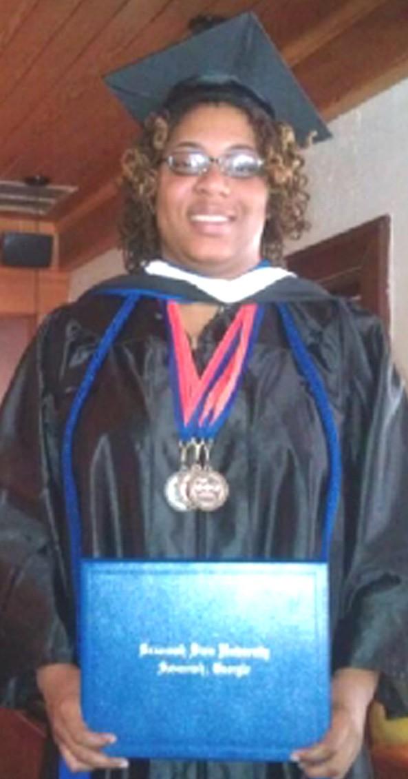 Graduate Simone Porter