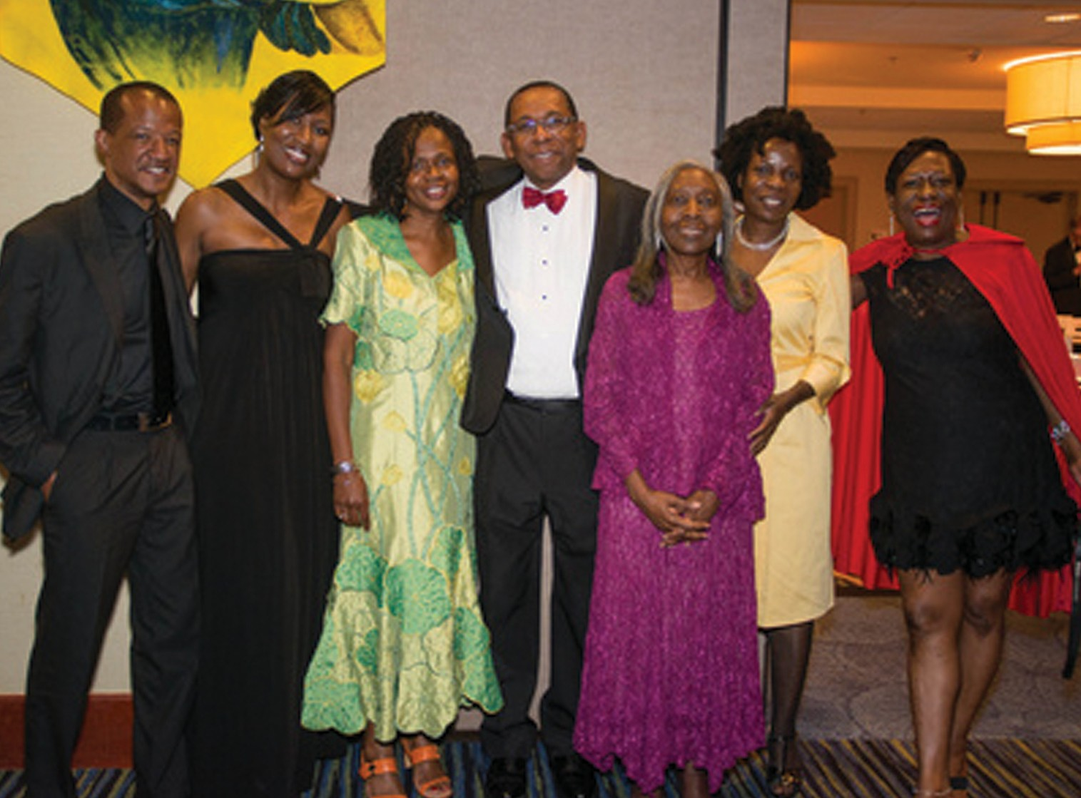 Harold Oglesby team members and guests.