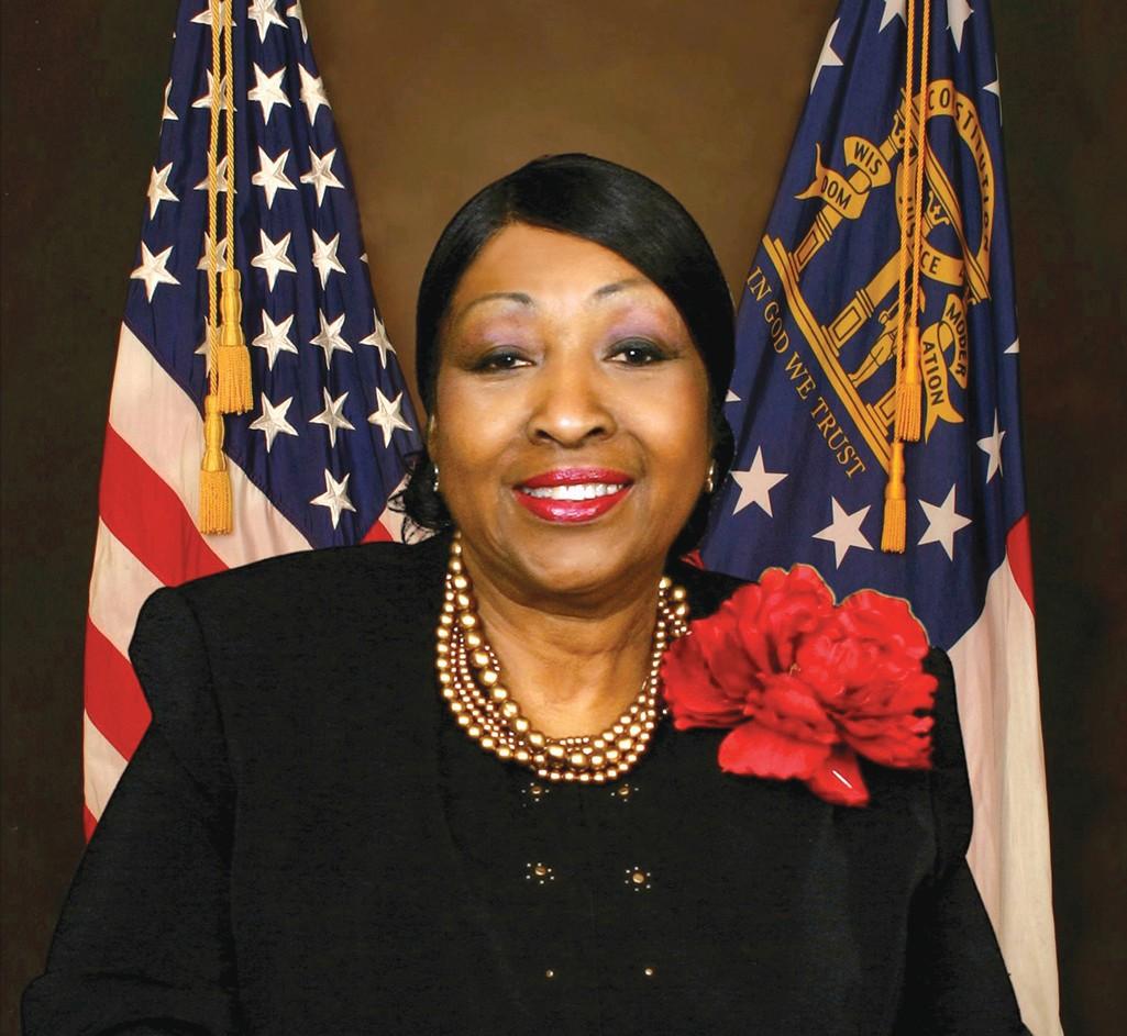 Mayor Edna B. Jackson