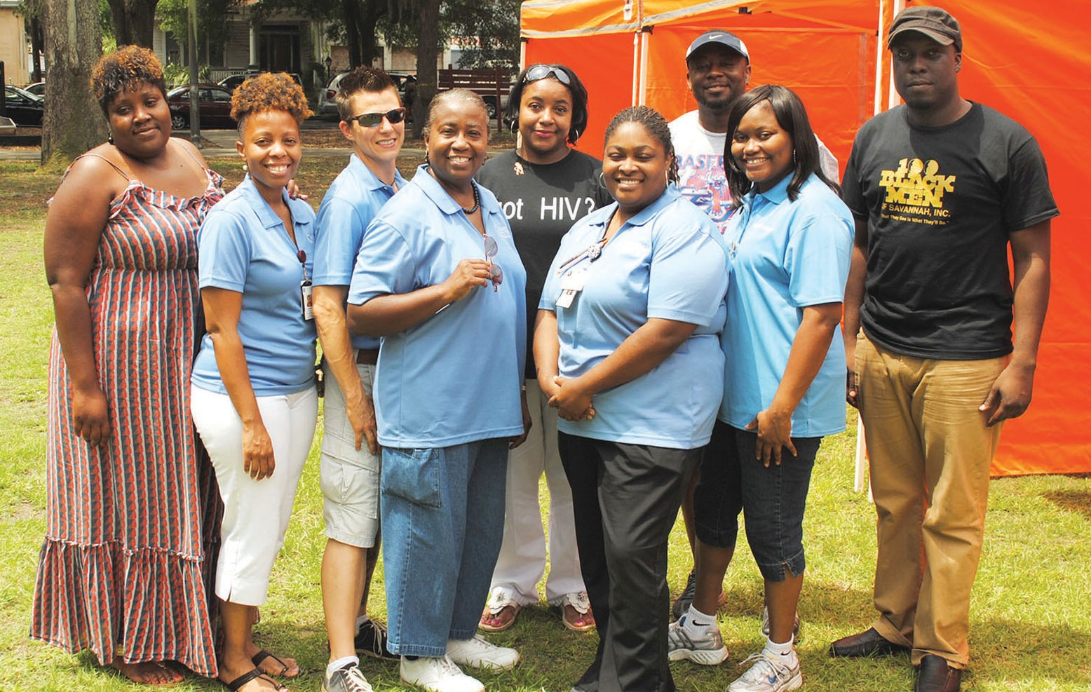 Chatham CARE Center Staff and Volunteers that particpated in National HIV/AIDS Testing Day