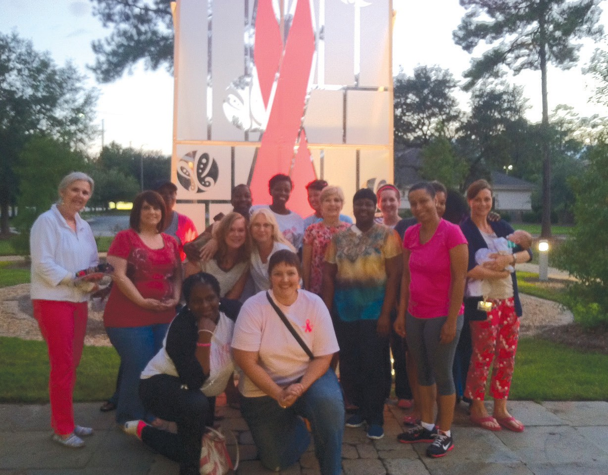 The Savannah Chapter of the Young Survivor Coalition Support group. All of theses empowering women are breast cancer survivors or are going through breast cancer treatment. For more information about the Young Survival Coalition log on to www.youngsurvival.org.