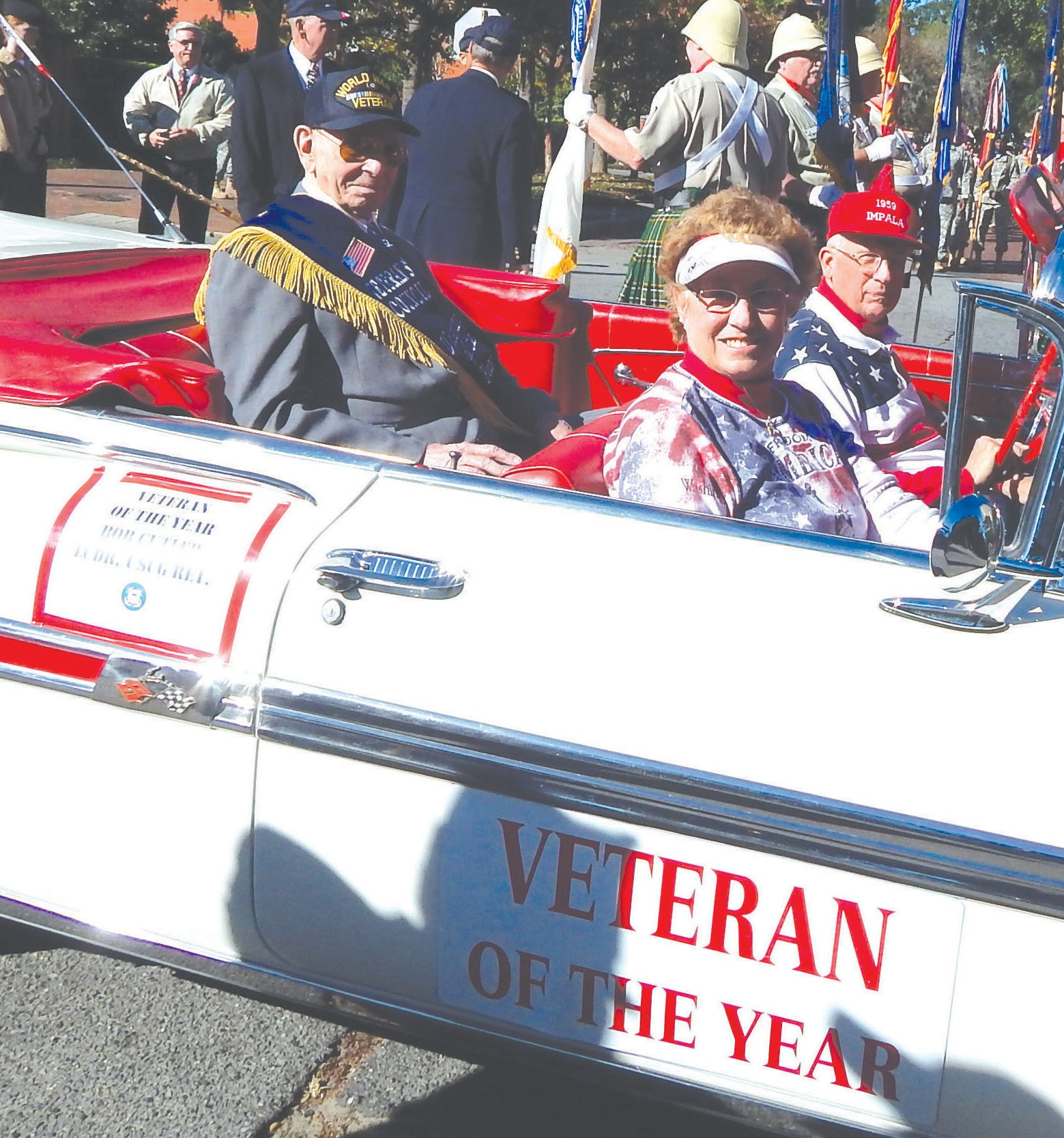 Veteran Of The Year, Bob Cutler, LCDR, USCG, Retired
