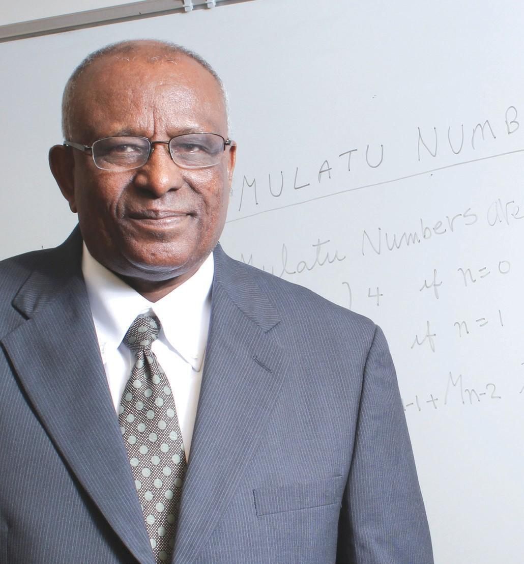 SSU Professor Mulatu Lemma