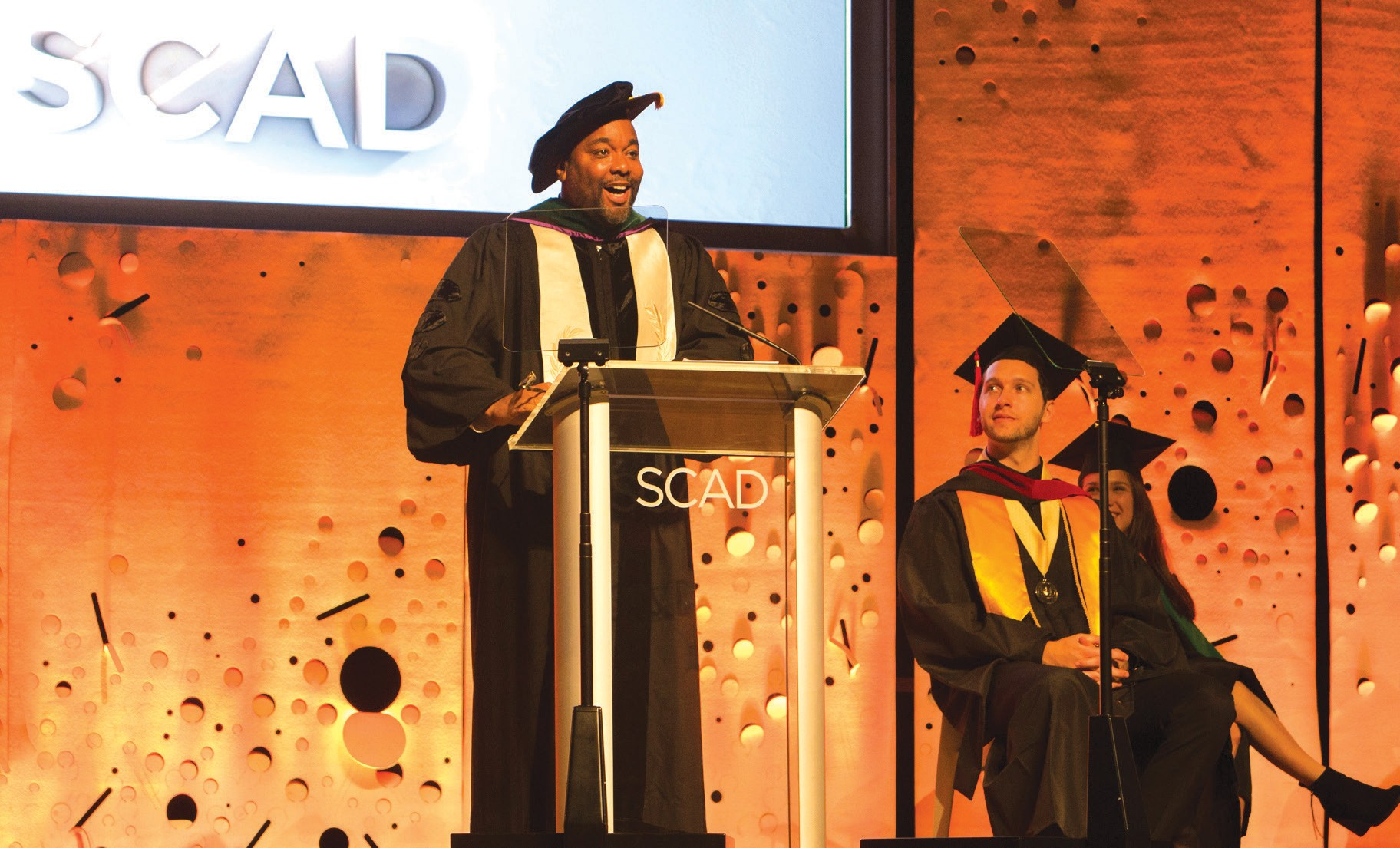 Lee Daniels gives Commencement speech