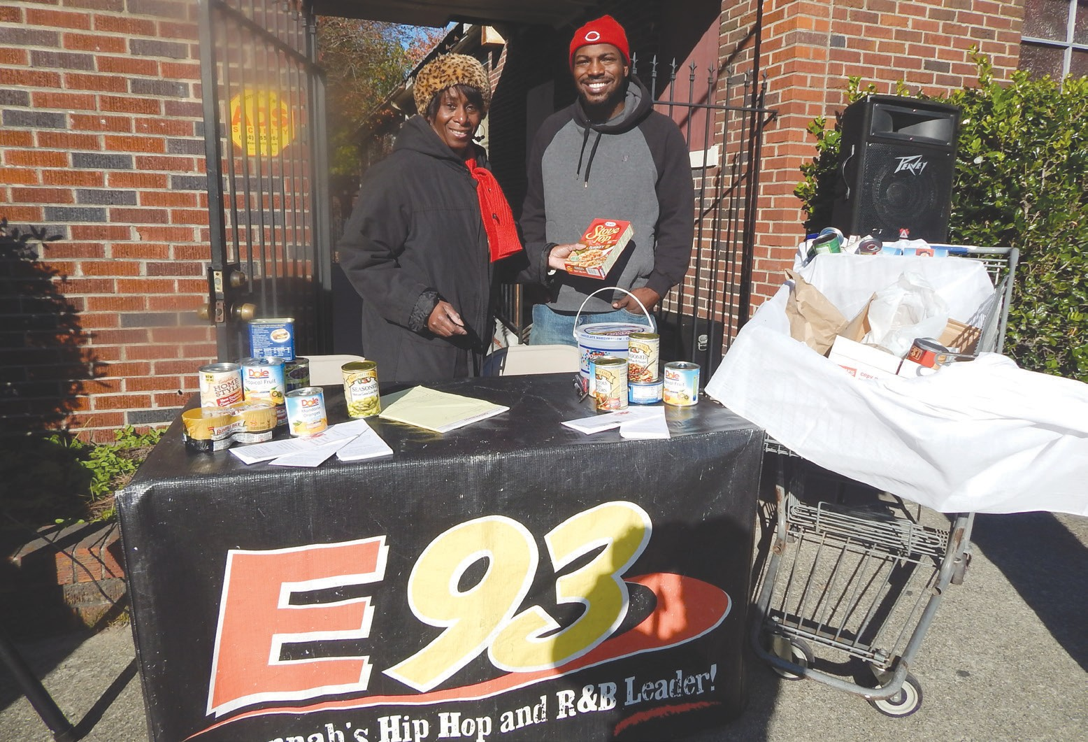 Tammy Mixon, Wesley Community Center Executive Director and Aaron of E93