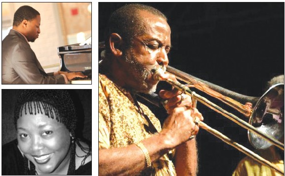 Top: Eric Jones; Bottom: Huxsie Scott; Right: Teddy Adams