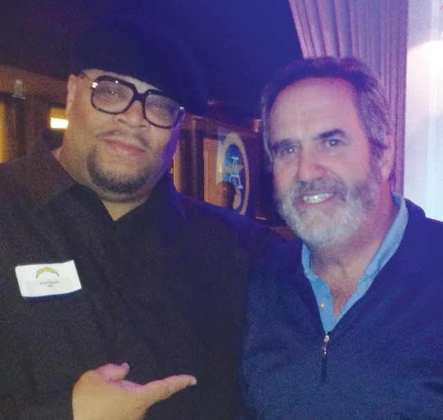 Greene and former Chargers QB Dan Fouts