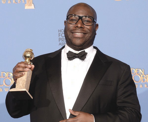 """Steve McQueen, director of the highly acclaimed movie, """"12 years a Slave."""""""
