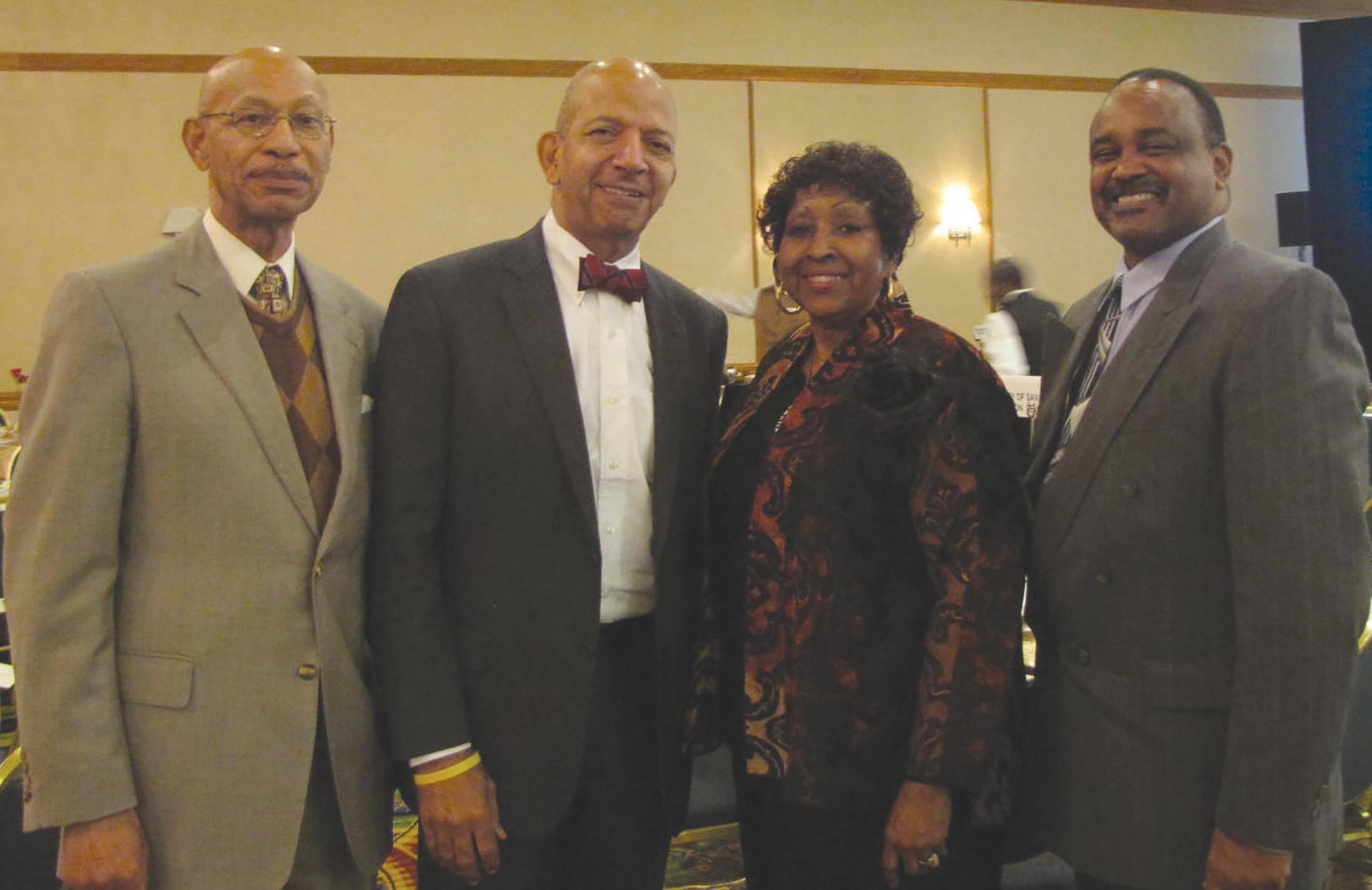 Former Mayor Otis Johnson, Anthony William Former Chief Financial Officer and two-term mayor of Washington D.C.; Mayor Edna B. Jackson and Mayor Willie Burns of Washington, GA