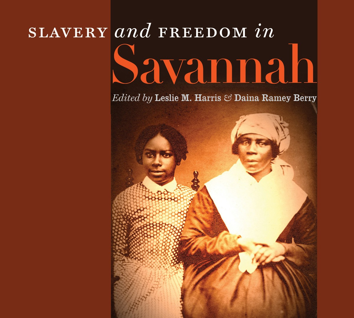 Slavery and Freedom in Savannah, book and exhibit, tell the story of slavery, emancipation, and black life in Savannah from the Colonial era into the mid-20th century.