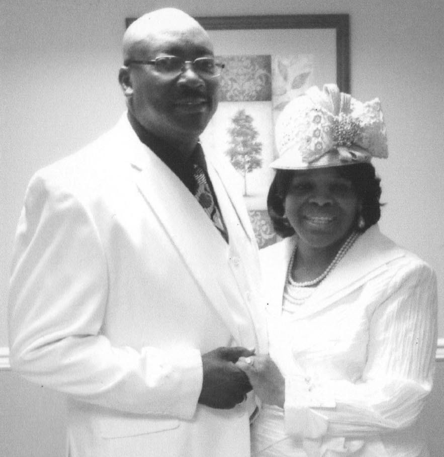 Bishop Sandy B. Pusha, Sr., and Asst. Pastor, Evang. Gwinnette A. Pusha