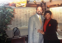 Progress: Savannah Family Vision Center 3709 Waters Ave. Mr. G (CEO of Cazal Eyewear) and U.W. Plummer, General Manager
