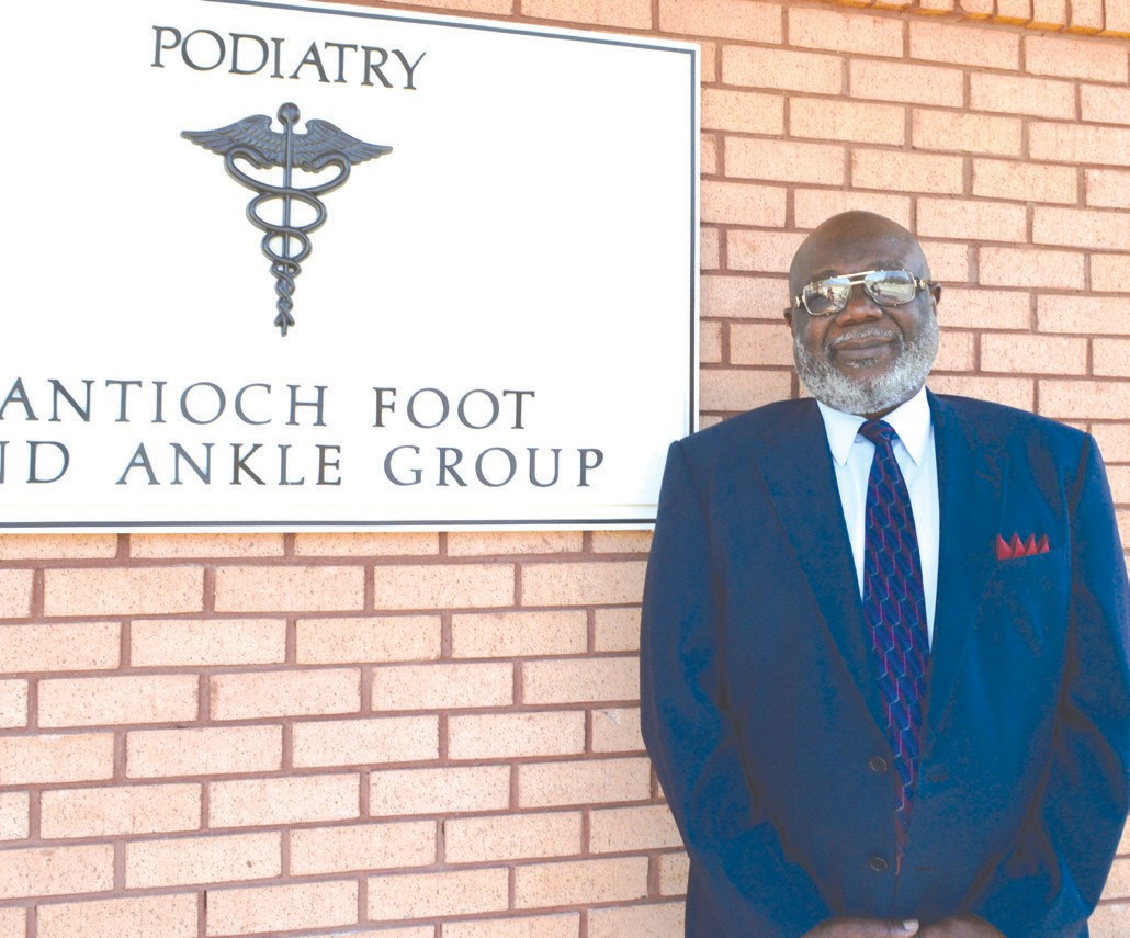 New Direction: Dr. Jim Dandy, founder and President of Antioch Foot & Ankle Group, 9104 Middleground Rd, Suite 2