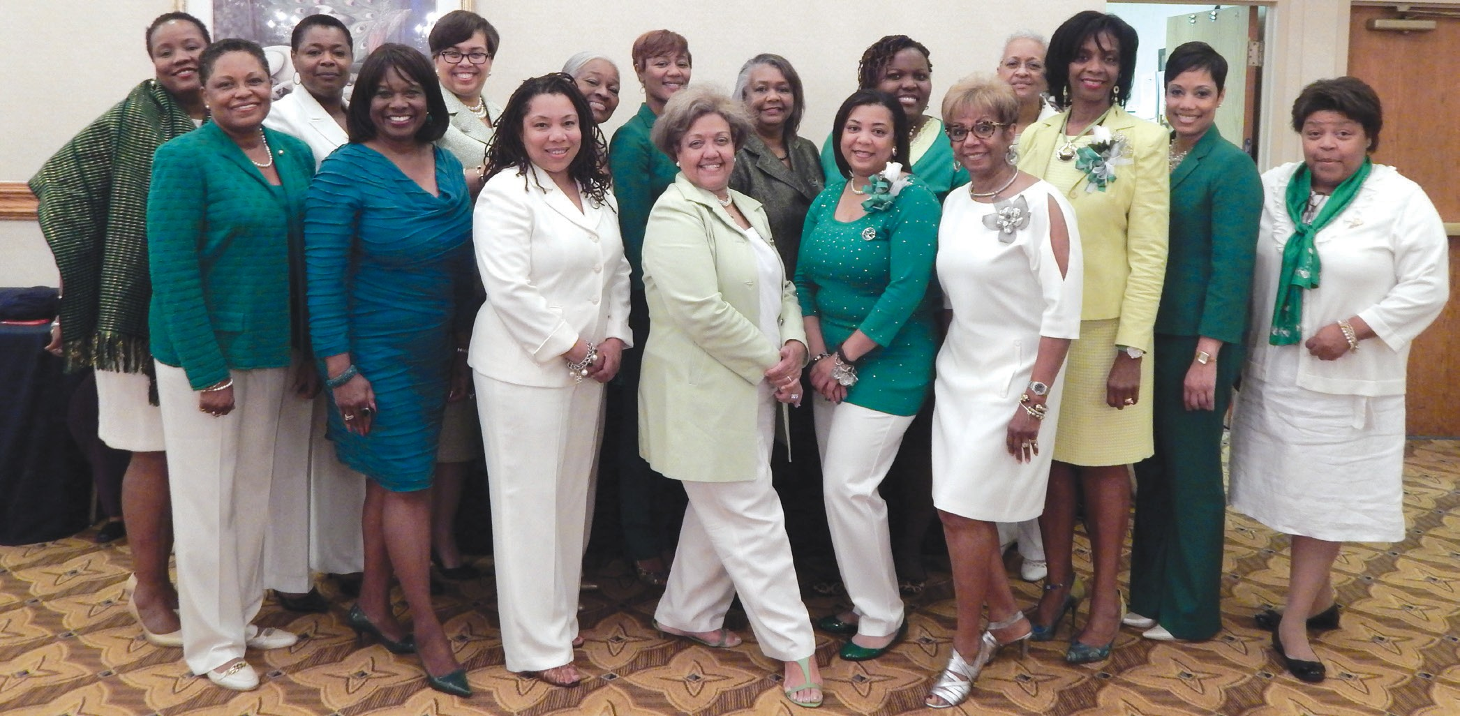 Members of the Savannah Chapter of The Links
