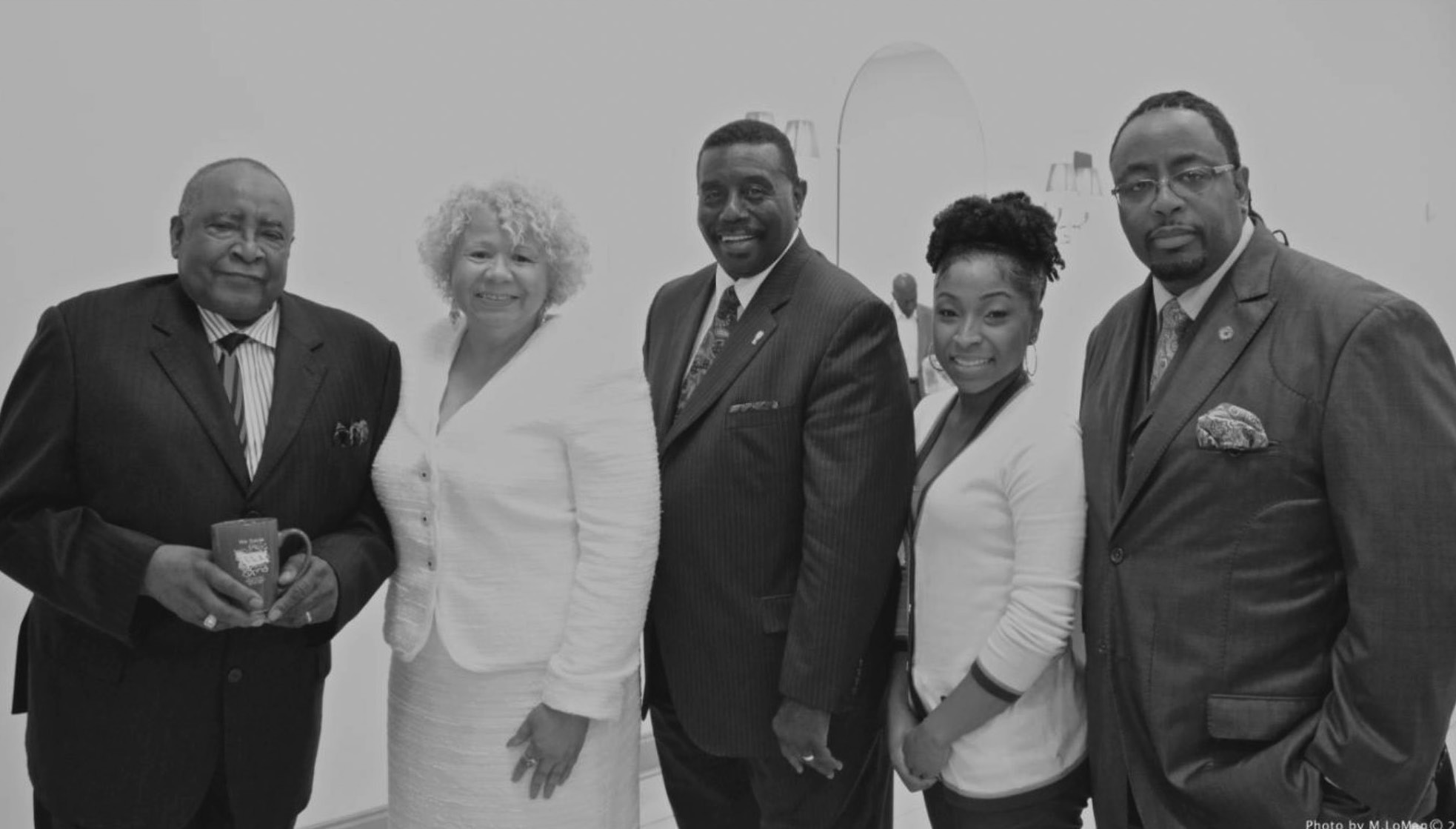 Left to right: Willie Morris, President ILA Local 1414 Retirees Association, Jacqueline Tomlin, Director Marketing and Promotions, Antioch Foot & Ankle Group, Willie Seymore, International Vice President ILA, Dr. Kristian Jeffress DPM Antioch Foot & Ankle Group and Tommie Stokes, President ILA Local 1414.