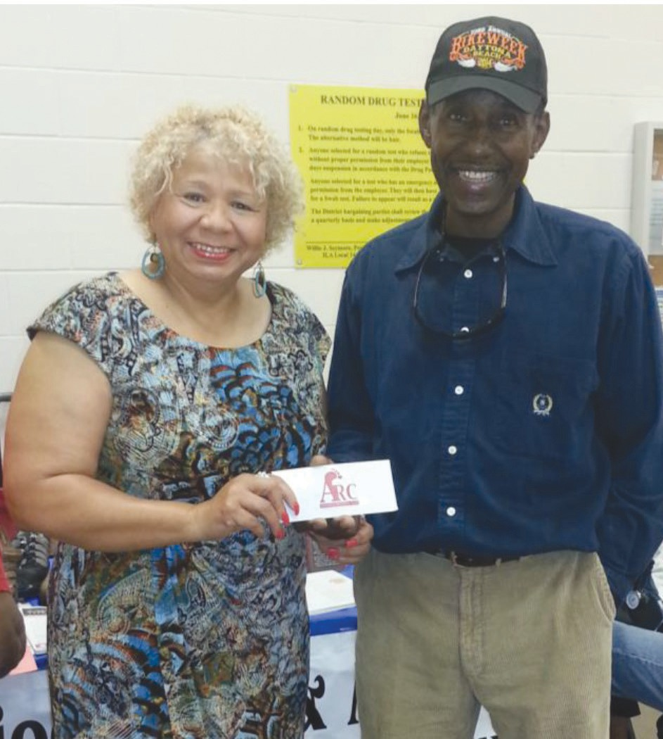 Al Stevens, ILA Local 1414 member, awarded $50 cash for referring patients to Antioch Foot & Ankle Group.