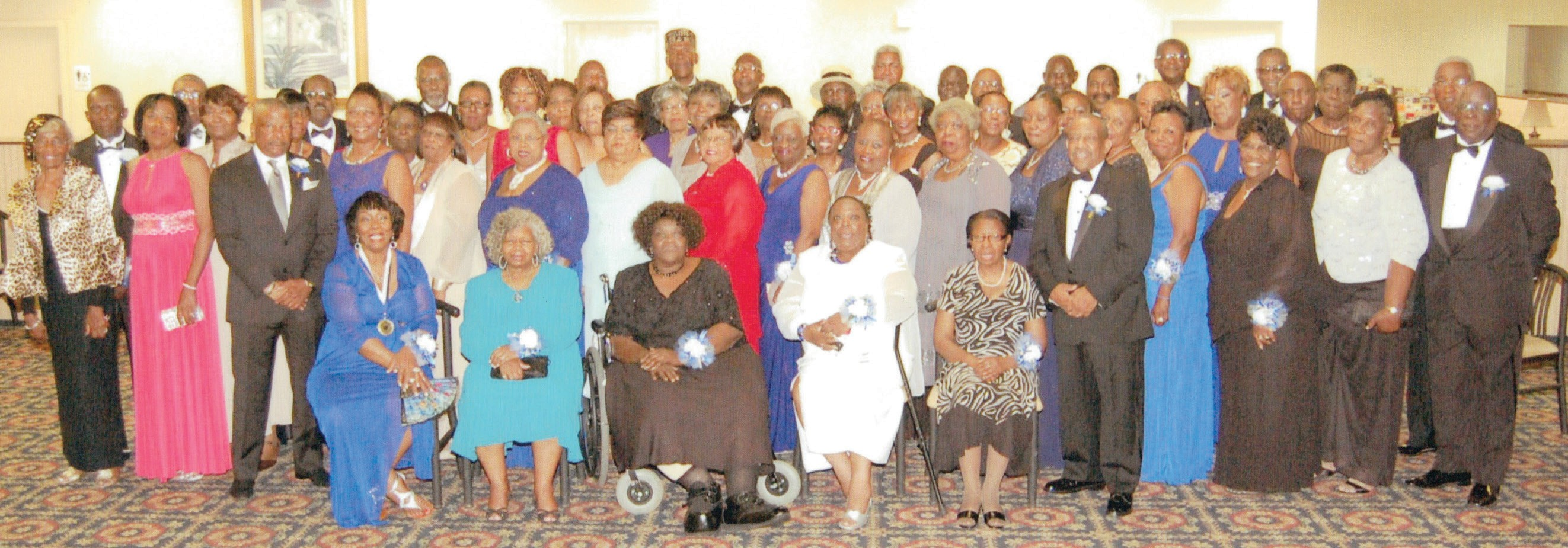 Ths class of 64 celebrates 50th class reunion the savannah tribune all activities were in pooler and savannah and included a meet greet session m4hsunfo