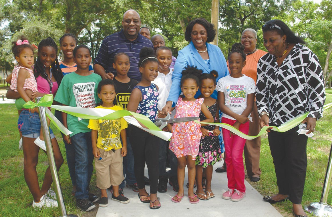 Feiler Park Ribbon cutting
