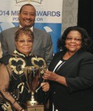 (L-R) Rosetta Miller Perry, Pluria Marshall, and Mary G. Denson