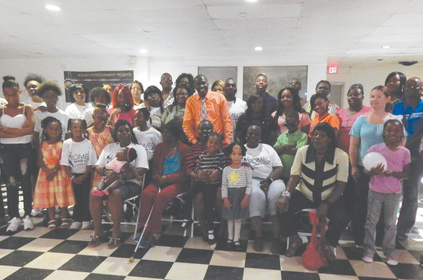 Romeo Dance Class held their 3rd Annual Family and Friends Day last Sunday at the Dance Studio located on East Broad St. at 38th St. Many participants gathered for refreshments, games and prizes. A good time was had by all.