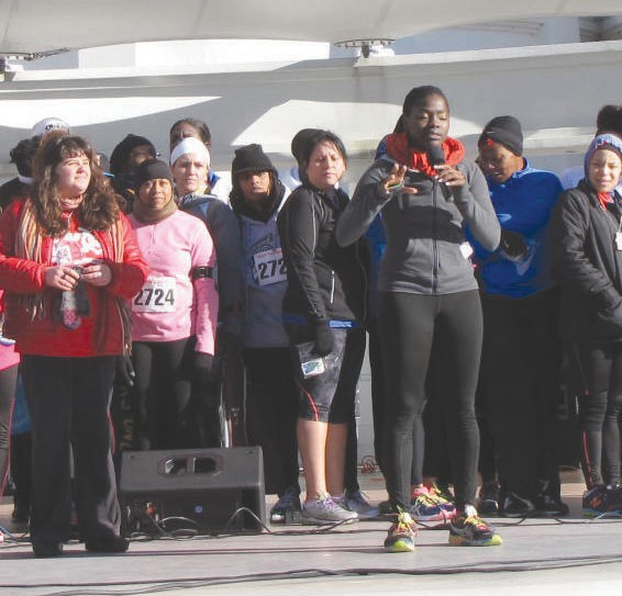 The 1st Annual MLK 5K participants.