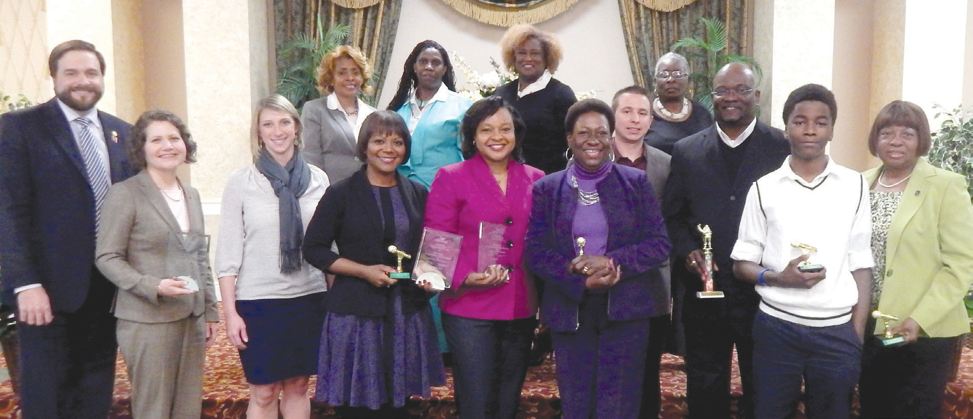 Greenbriar 2015 Award Winning Volunteers and Employees of Greenbriar Children's Center