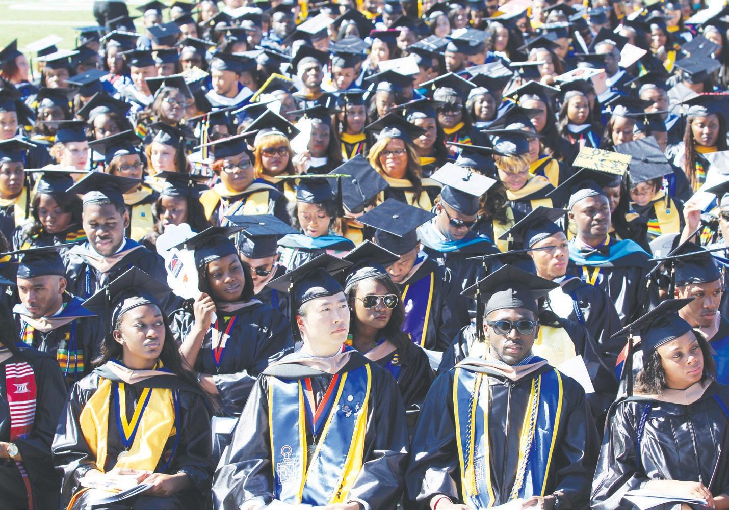 SSU Spring 2015 Graduates