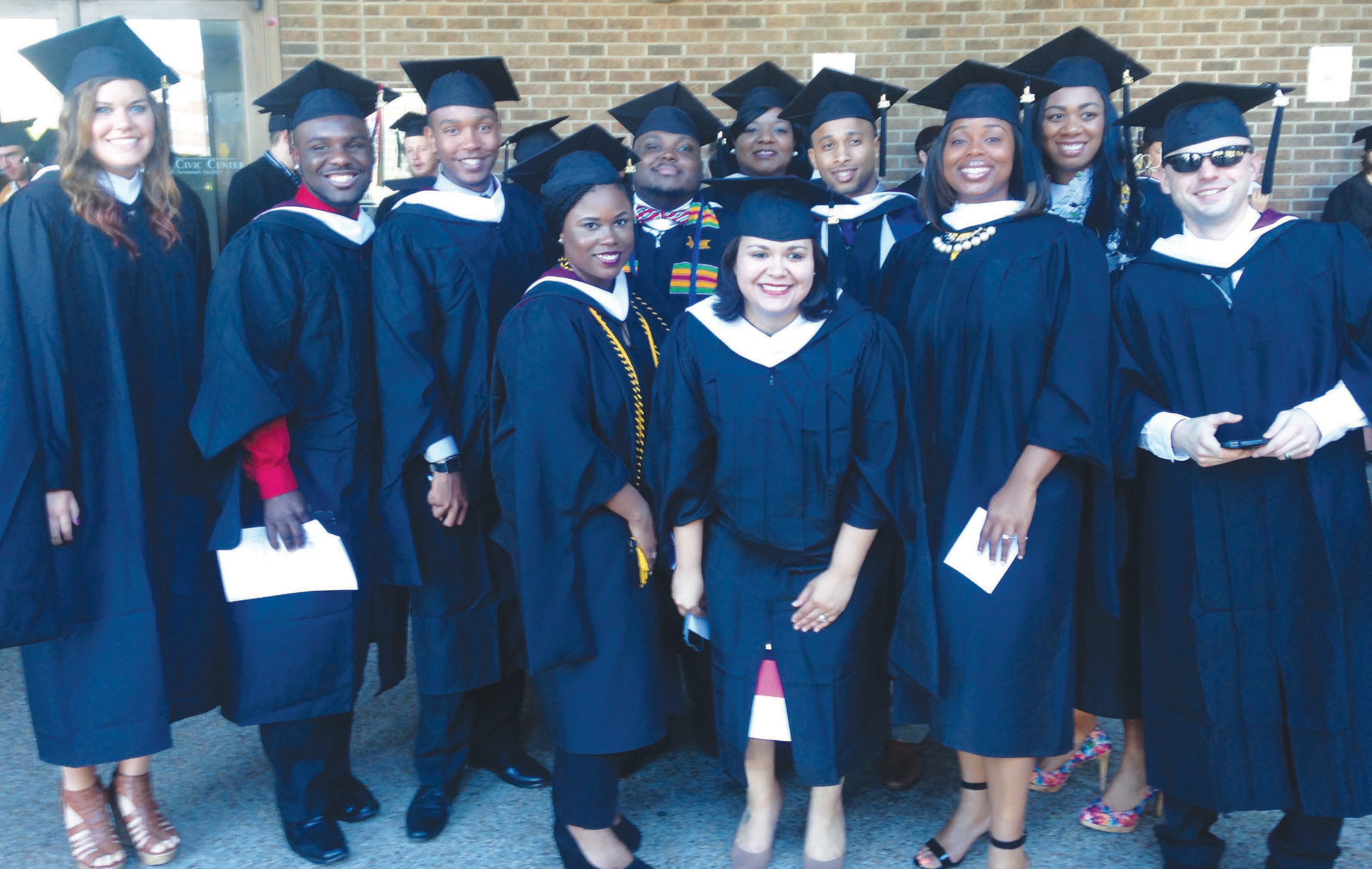 Graduates of Armstrong's Professional Communications and Leadership Program