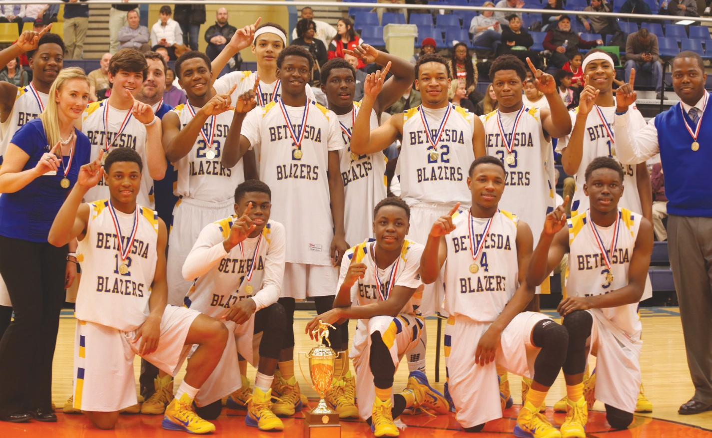 2015 Boys State Basketball Championship Team