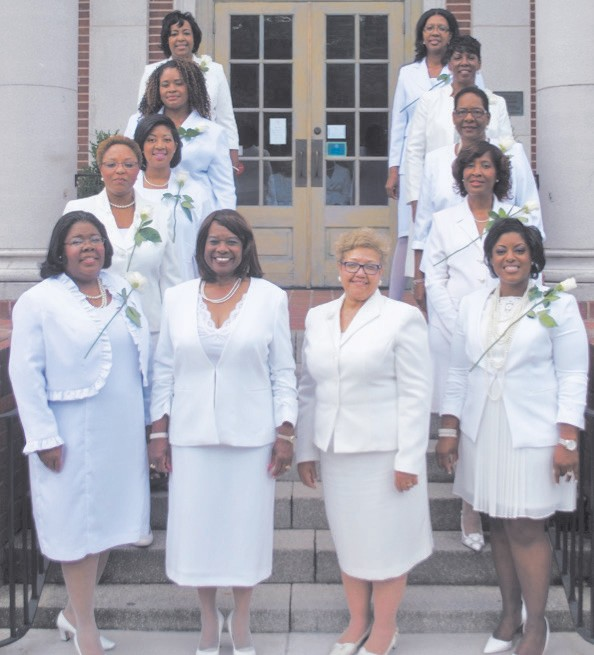 Ms. Tanya Chisholm, Ms. Amanda Hollowell, Ms. Nashia C. Whittenburg, Ms. Karen Bogans, Ms. Monifa I. Johnson, Ms. Beverly M. Hall, President, Mrs. Angela B. Young, Vice-President, Mrs. Chanté L. S. Frazier, Mrs. Vanessa Kaigler, Mrs. Wanda S. Lloyd, Dr. M. Ann Levett, Dr. Mary B. Chatman.
