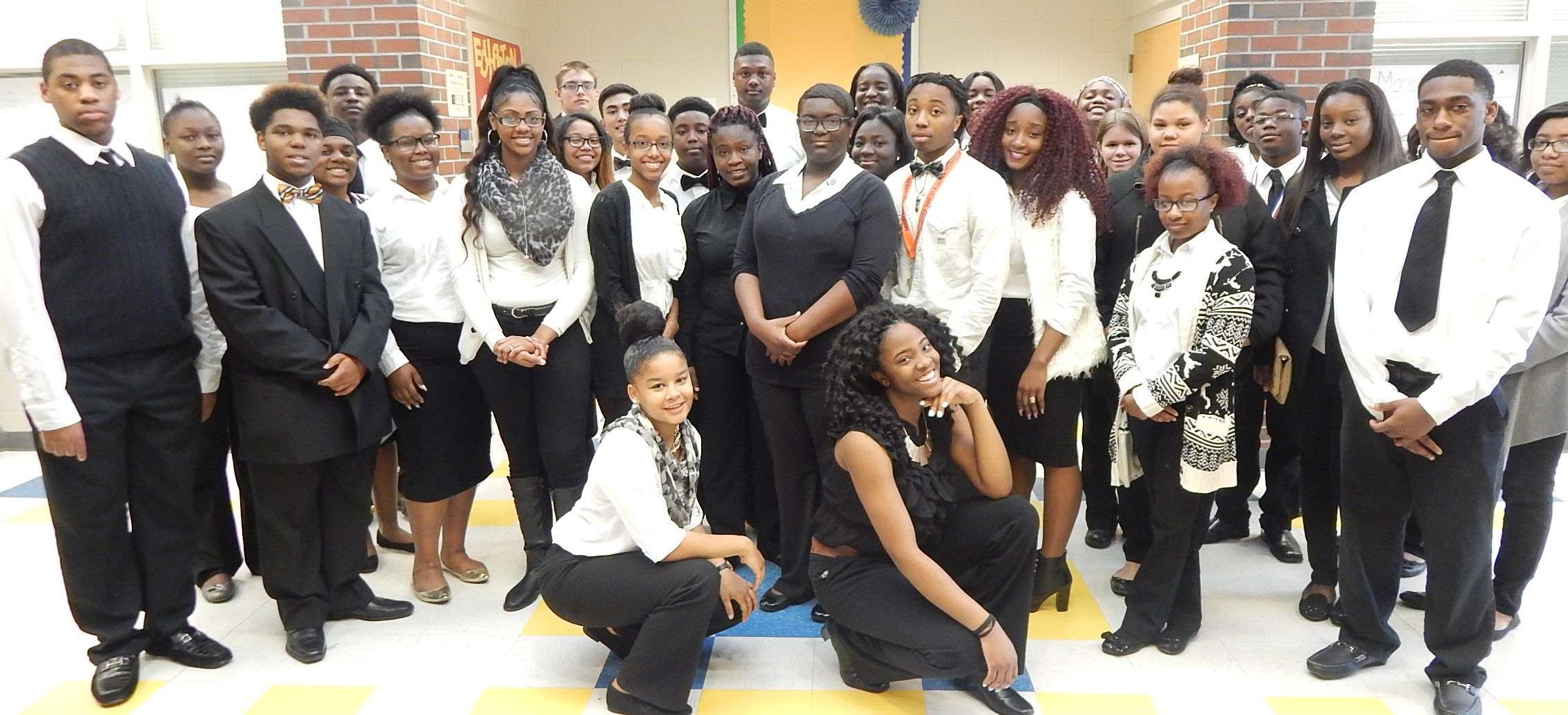 Participants of the 2016 A.E. Beach High School Jobs for Georgia Graduates Career Association