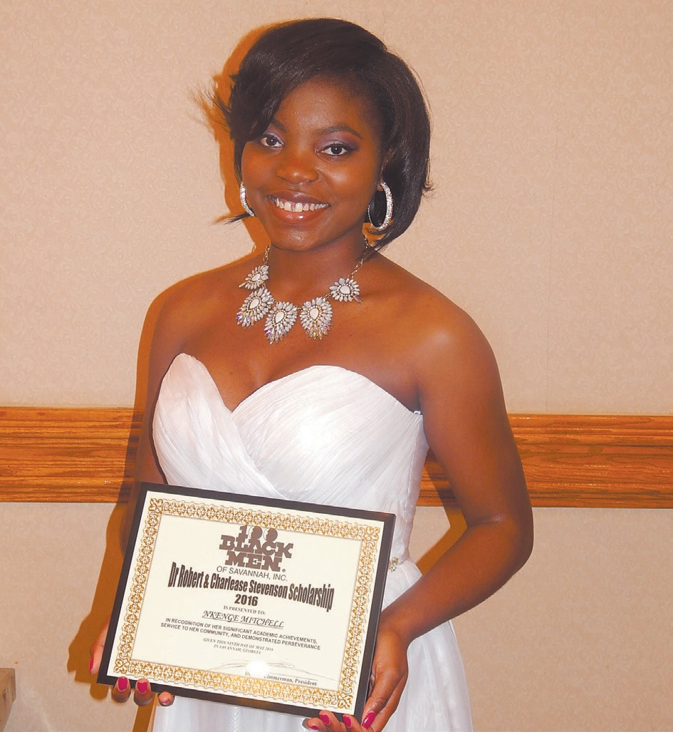 Pictured: Nkenge A. Mitchell 2016 scholarship recipient