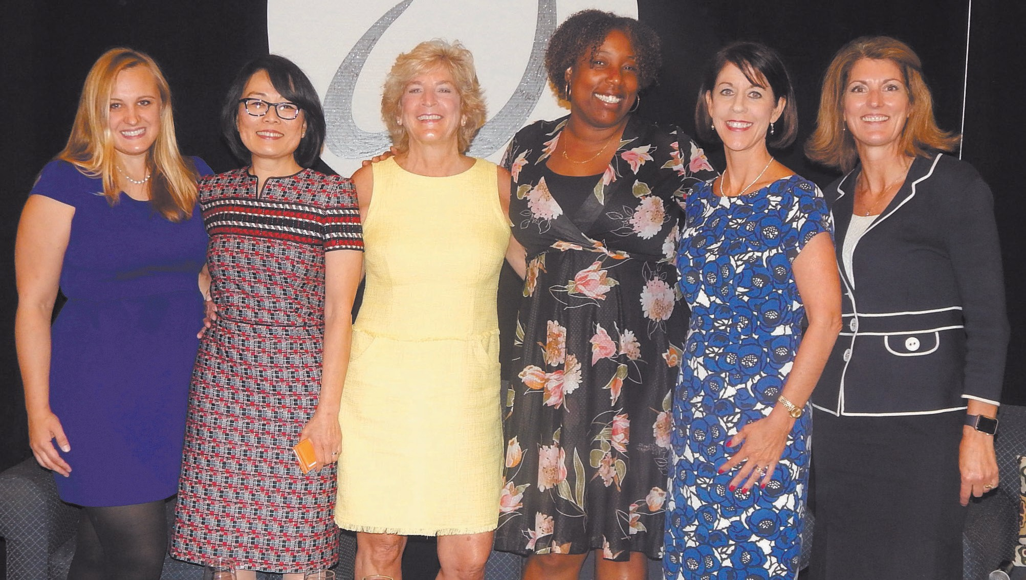 Sarah McCammon-Panelist, Leda Chong-Panelist, Susan Speros-Panelist, Mashama Bailey-Panelist, Meg Heap-Moderator, Women's Legacy Chair-Deb Thompson