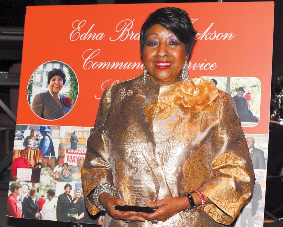 Former Mayor, Edna Jackson