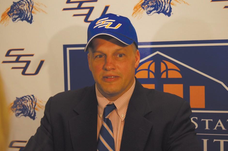 SSU Head Football Coach, Erik Raeburn