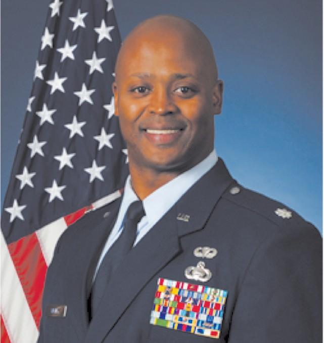 United States Air Force Lt. Col. Reginald D. Wesley