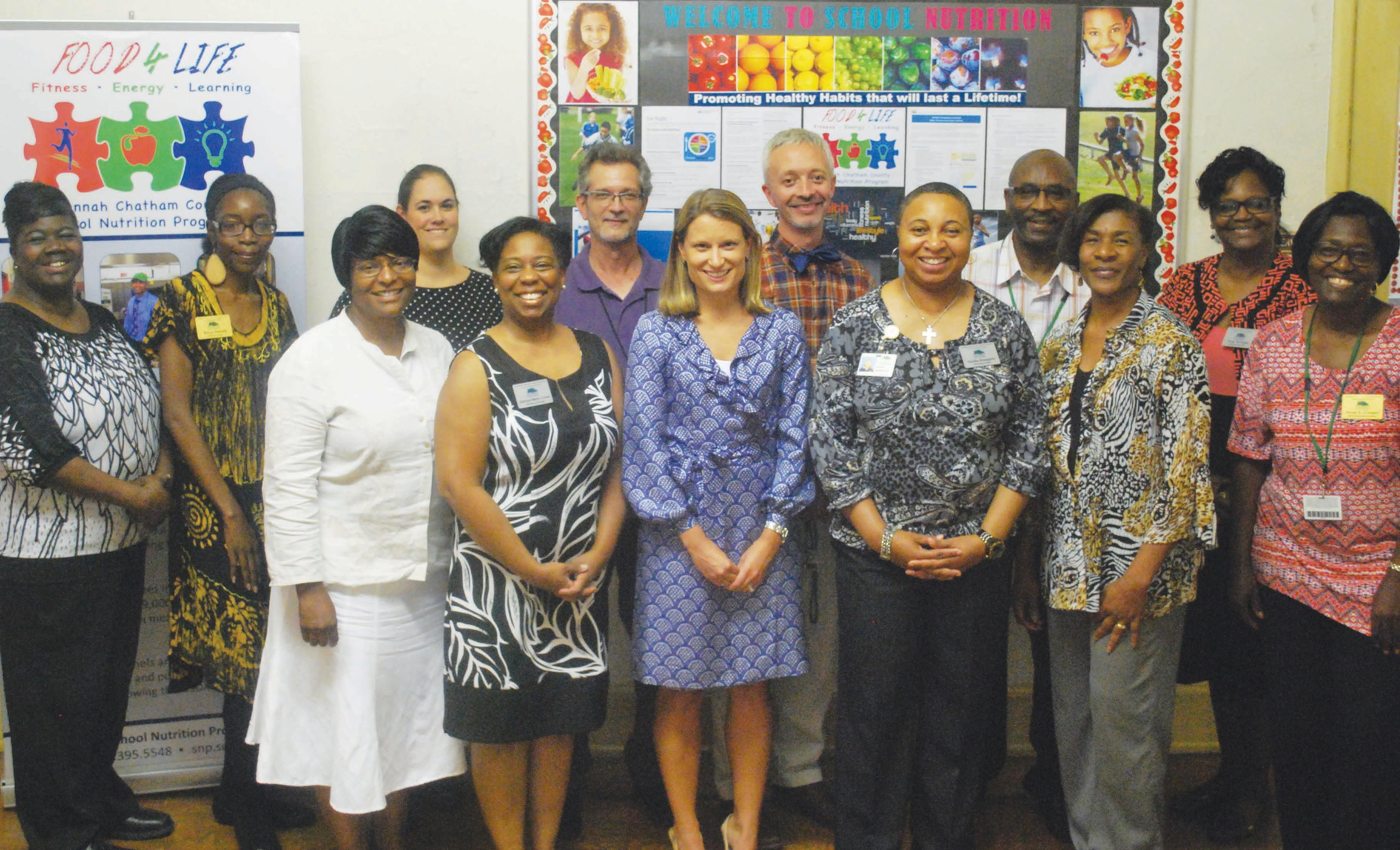 The 11 regional winners of the Georgia USDA Best Practice Award