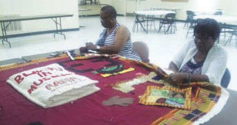 """Quilting the AAMA 1983 Blacks in Museums Recognition Exhibition and """"Kiah Museum Day of Remembrance"""""""