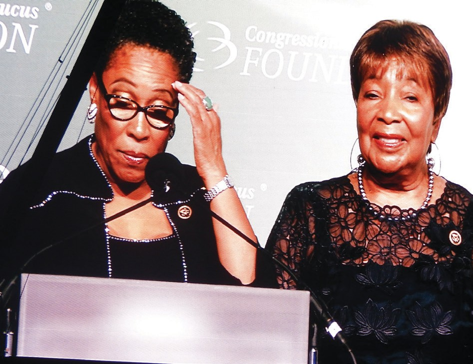 The Barbara Jordan Phoenix Award was presented to the Honorable Marcia L. Fudge, U.S. House of Representatives.