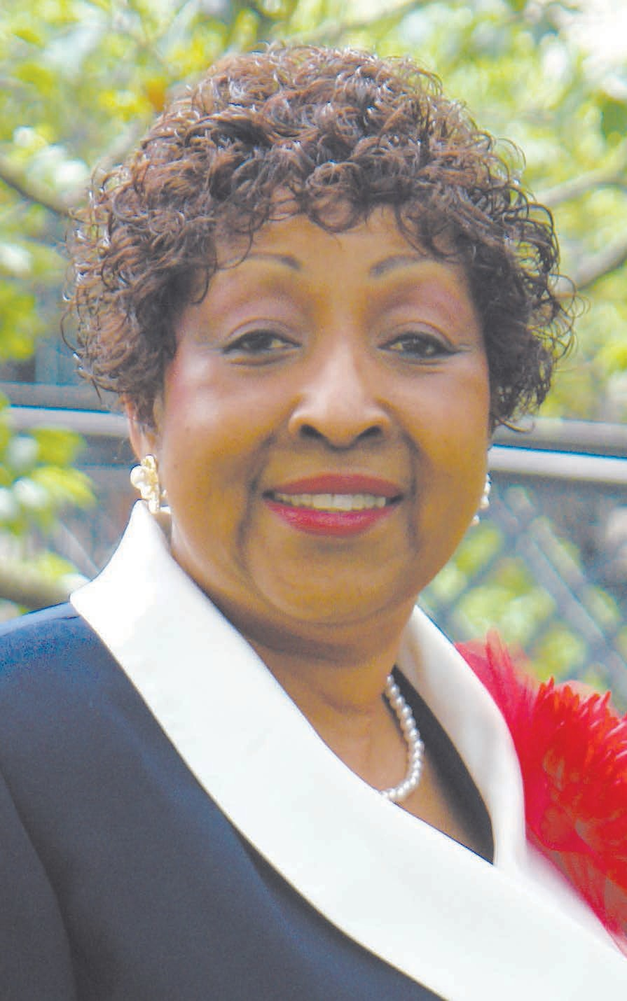 Former Savannah Mayor Edna Jackson,