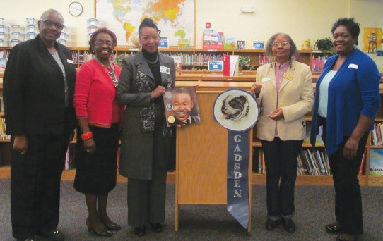 L-R Deborah Adams, Carolyn Blackshear, Dr. Deborah Jones, Evon Wright, Marie Simpson